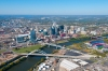 Downtown Nashville Aerial