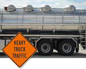 Signs-Truck-Traffic